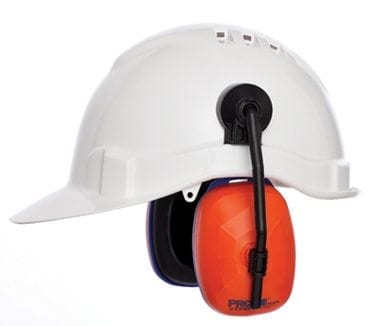 Hard hat with muffs